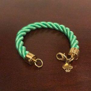 Kate Spade Mint/Gold Bracelet